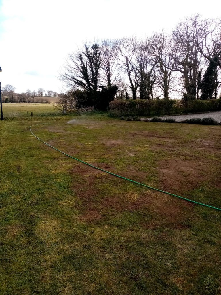 Lawn care Top dressing in Beccles